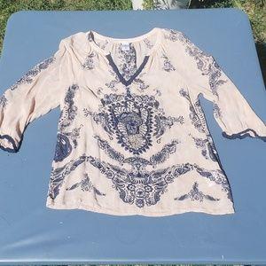 Bila Beaded blouse. SIZE M